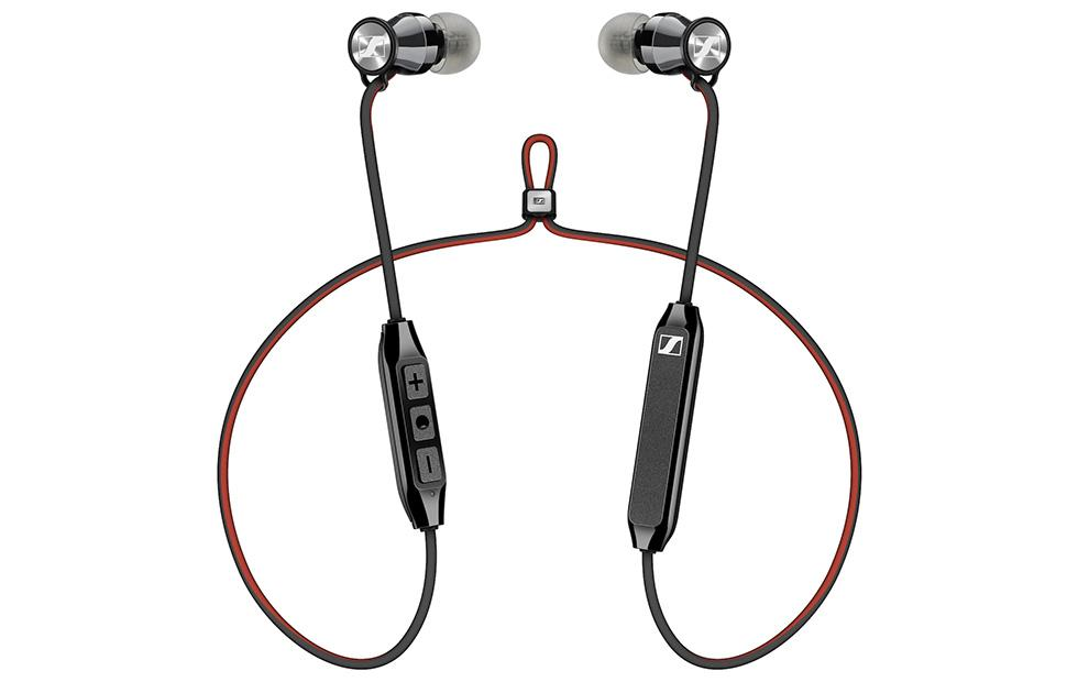 Sennheiser HD1 Free wireless earbuds: stainless steel and a leather case