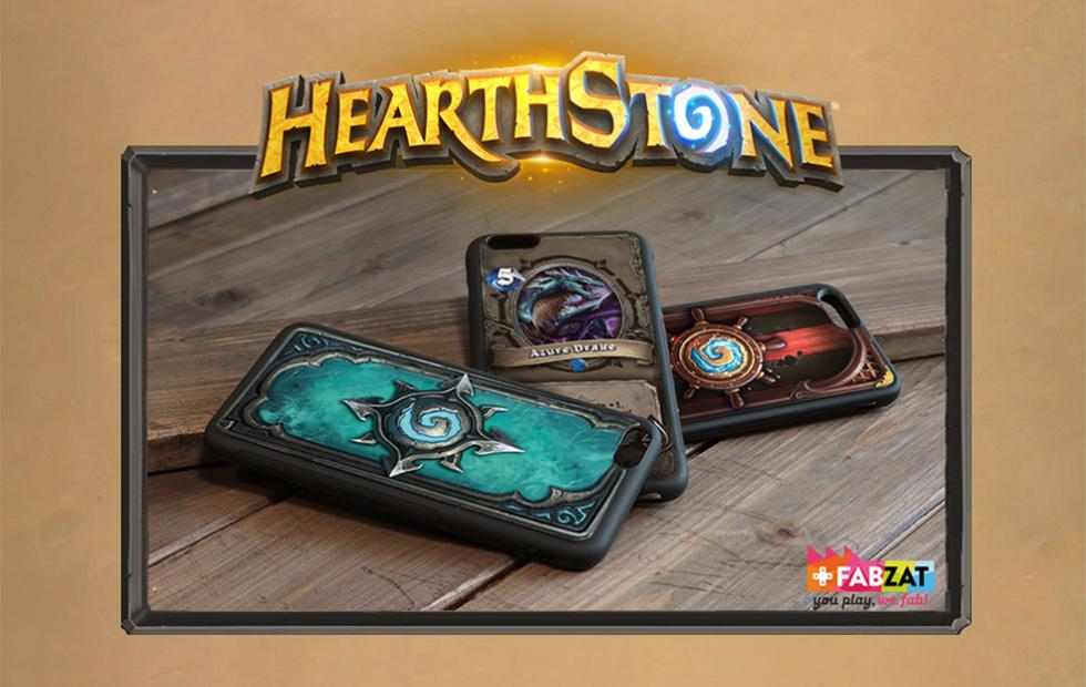 Hearthstone 3D printed cases bring game art to your phone