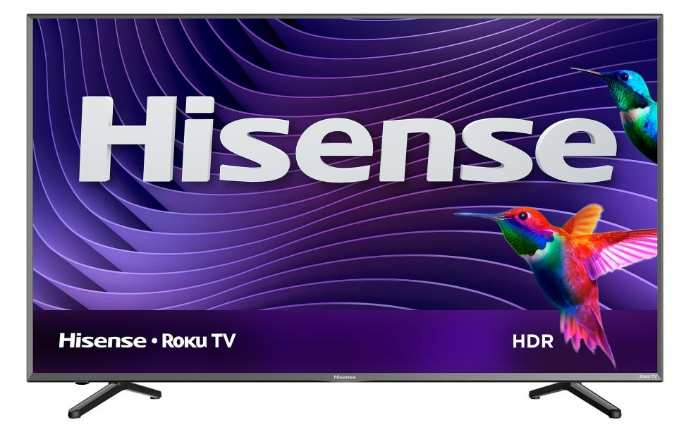 R6 4K Hisense Roku Smart TV lineup launches with HDR