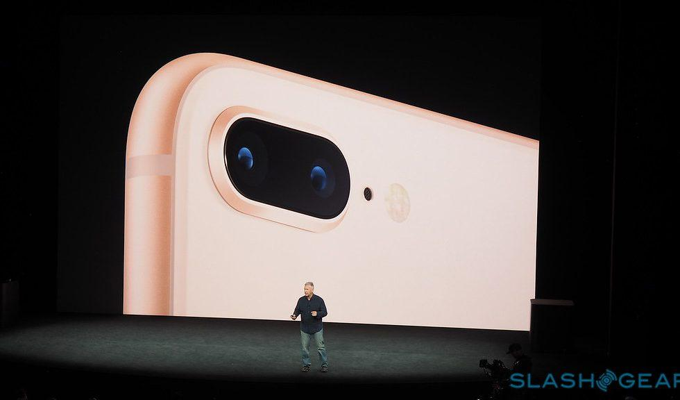 This is the iPhone 8 Plus camera