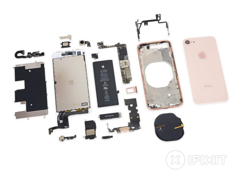 iPhone 8 teardown has more bad news about repairability - SlashGear