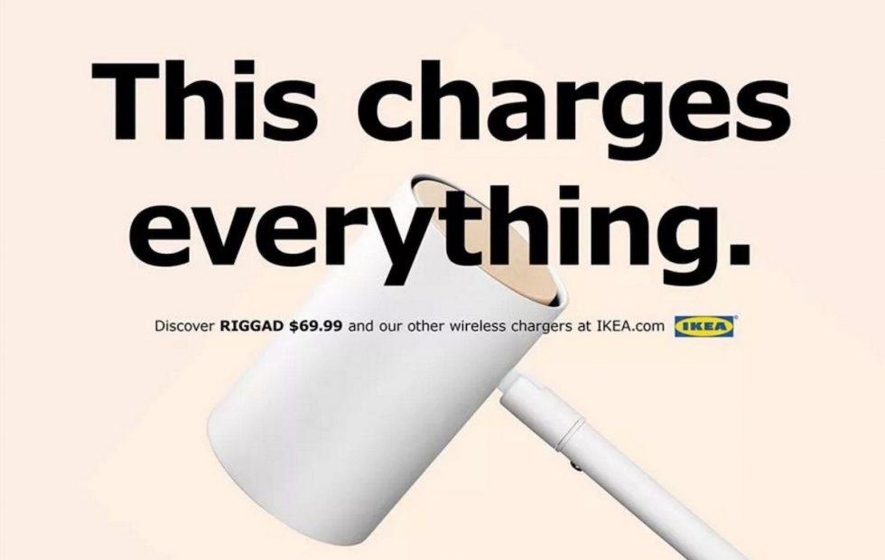 IKEA welcomes iPhone 8 wireless charging with tribute campaign