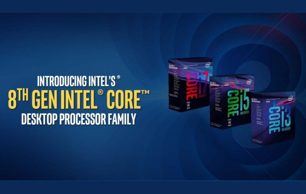 8th gen Intel Core desktop processors launched for gamers, creators