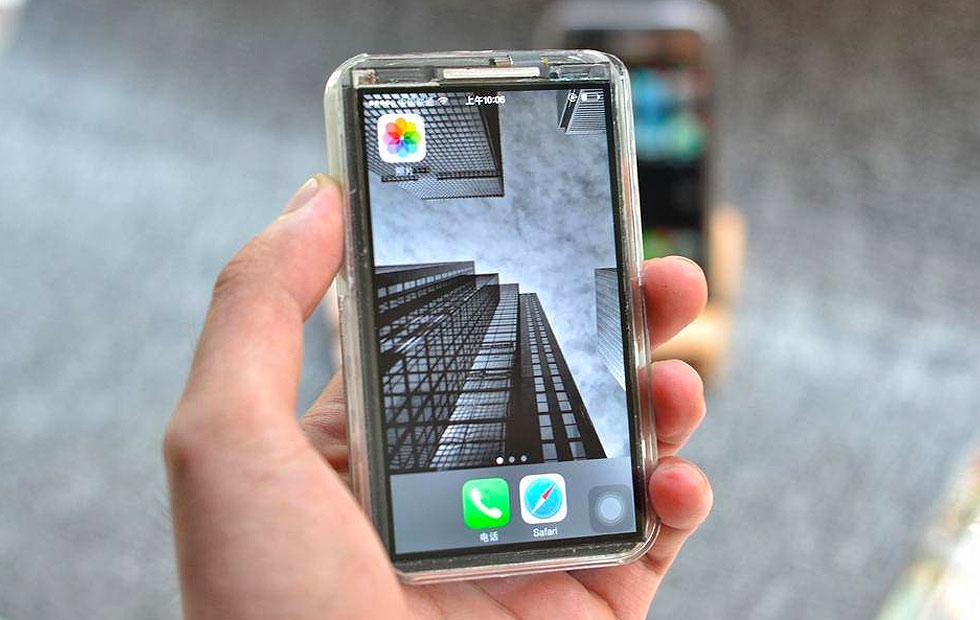 This DIY iPhone X Mini is bonkers