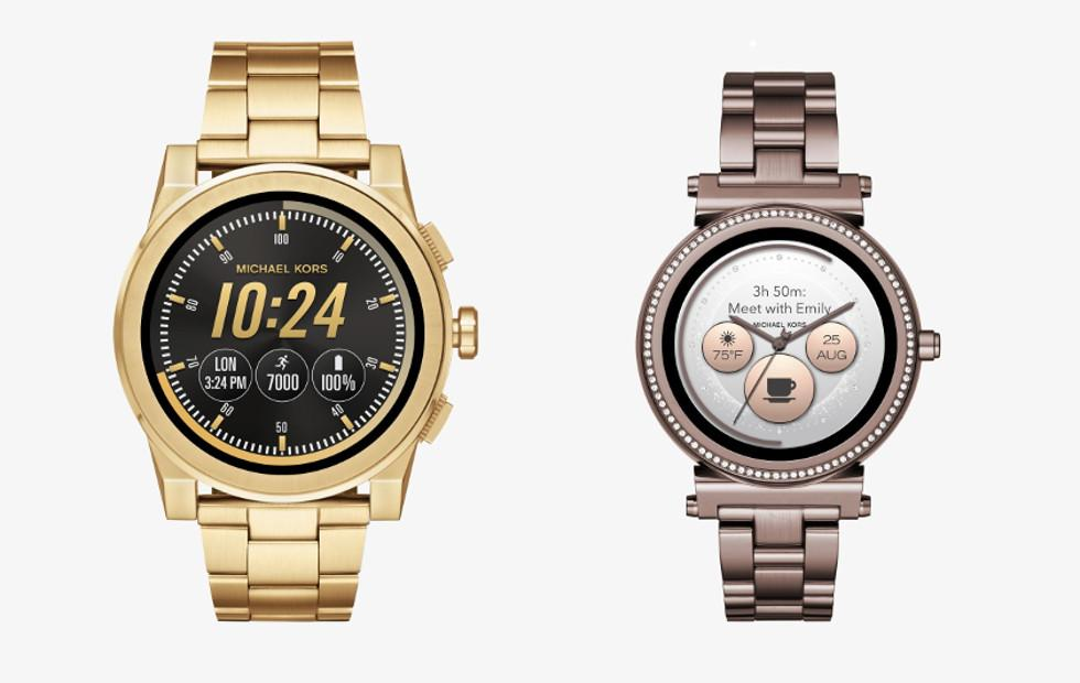 Michael Kors Access Sofie, Grayson smartwatches now available