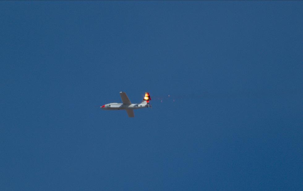 Watch Lockheed Martin laser-blast drones from the sky