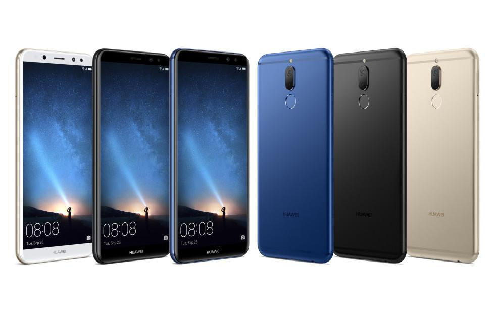 Huawei Mate 10 Lite leaked with 18:9 screen, four cameras