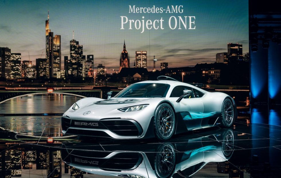 This is the Mercedes-AMG Project ONE: an F1 car for the road
