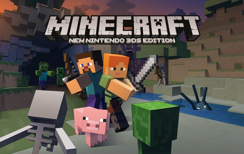 Minecraft for New Nintendo 3DS now available: get it in the eShop