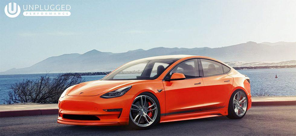 Unplugged Performance adds the va-va-vroom to Tesla Model 3