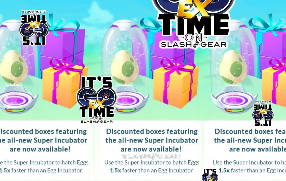 Pokemon GO: Super Incubator event and 2km egg contents