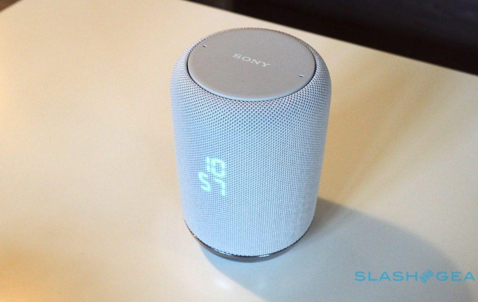 Sony's smart speaker has a low-tech feature they all should have