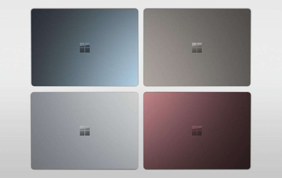 Surface Laptop colors go global, Window 10 Pro upgrade extended