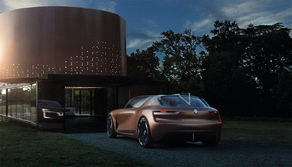 Renault SYMBIOZ is a house and a car that work in harmony