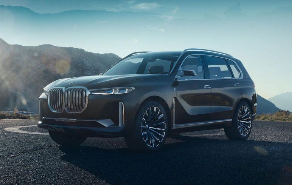 BMW X7 Concept revealed ahead of Frankfurt Auto Show