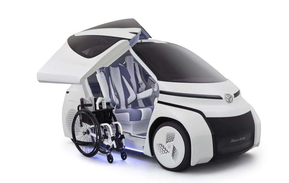Toyota Concept-i RIDE brings AI mobility to forgotten users