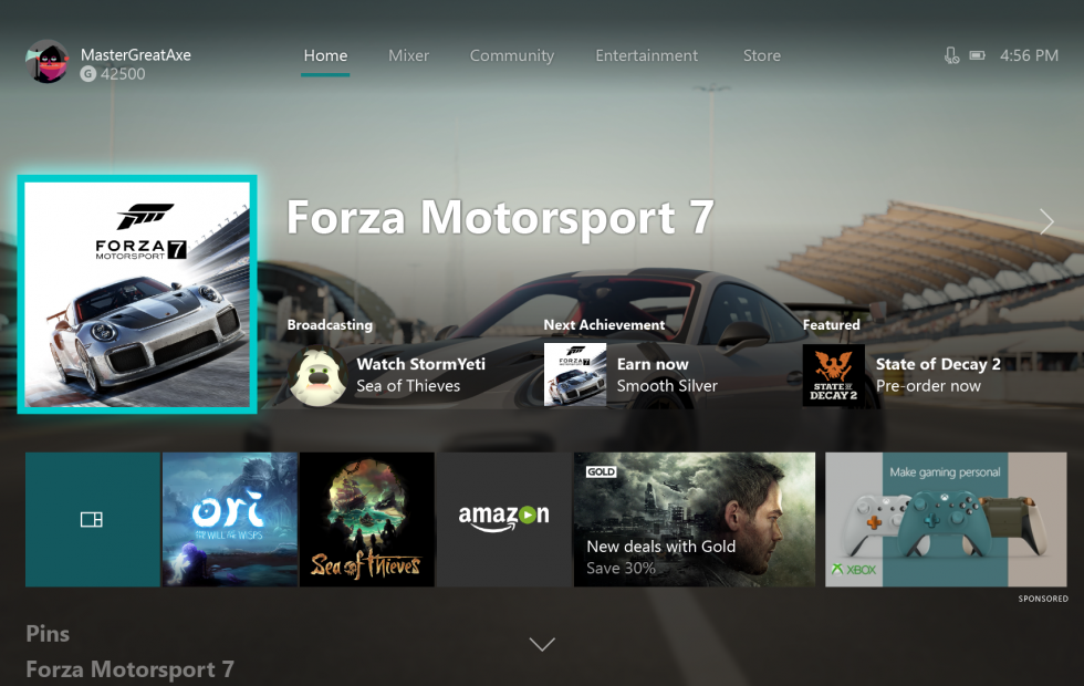 Xbox One's massive Fall Update is now live