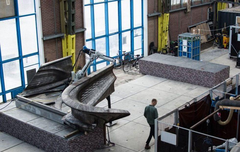 3D printed stainless steel bridge to be installed in the Netherlands