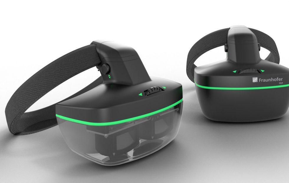 This AR headset bakes eye-tracking right into its OLED