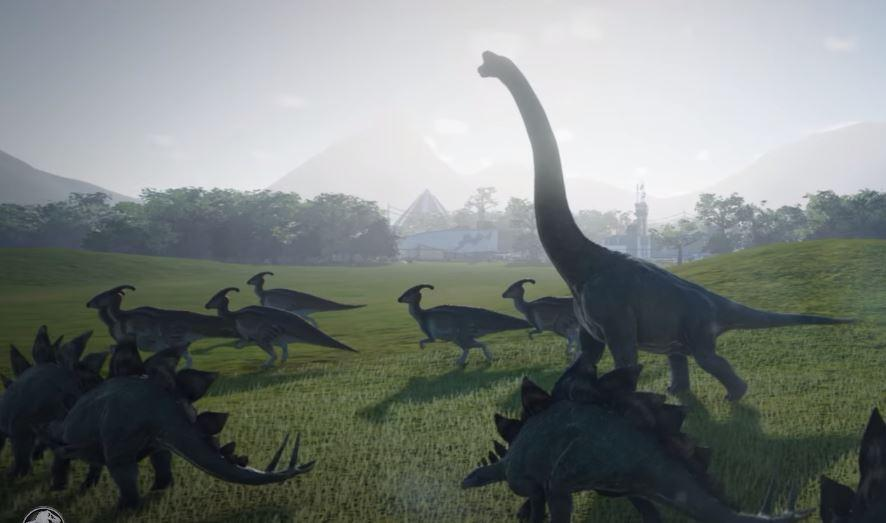 Jurassic World Evolution trailer offers up first in-game footage