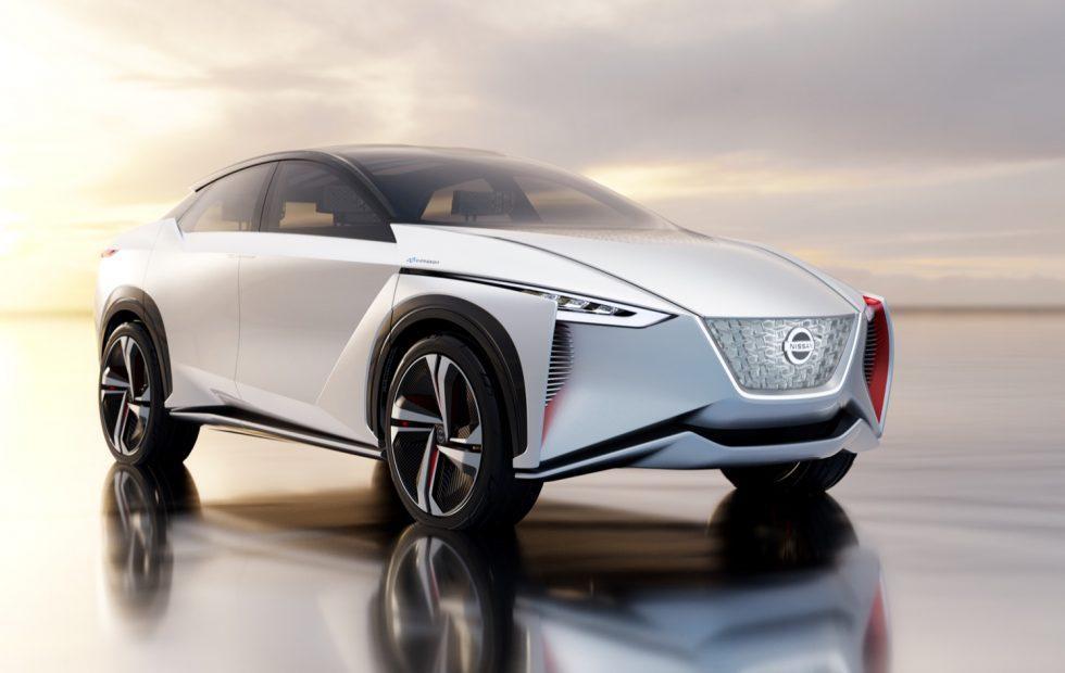 """Nissan IMx autonomous EV concept is a """"virtual"""" power station"""