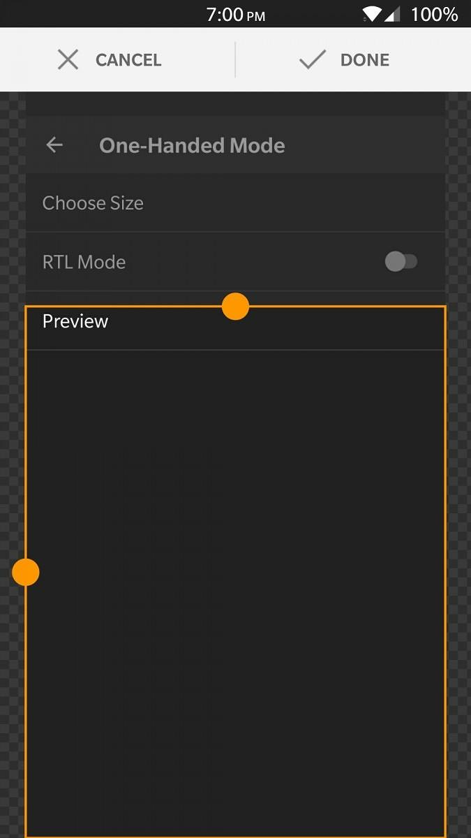 XDA One Handed Mode makes large Android phones more usable - SlashGear