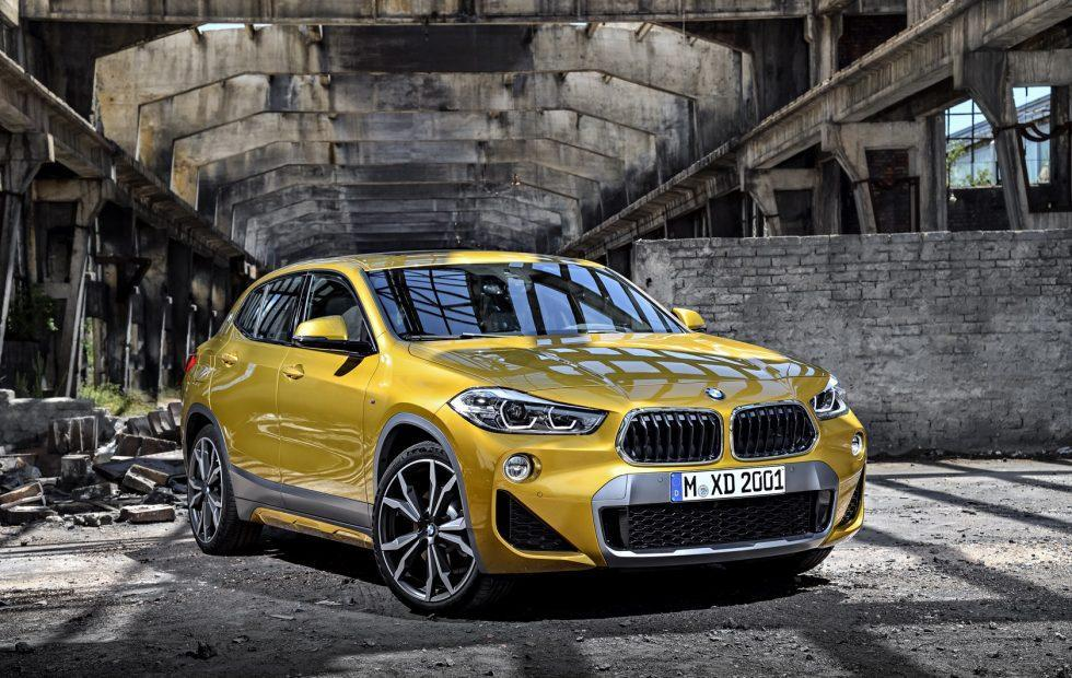 2018 BMW X2 breaks new design ground