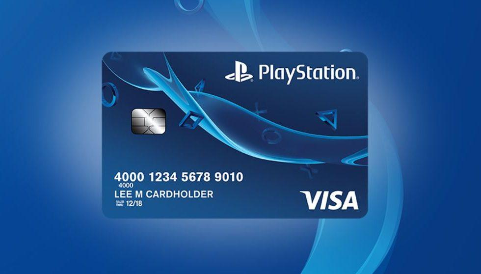Sony's PlayStation credit card offers tempting rewards for PS4 fans