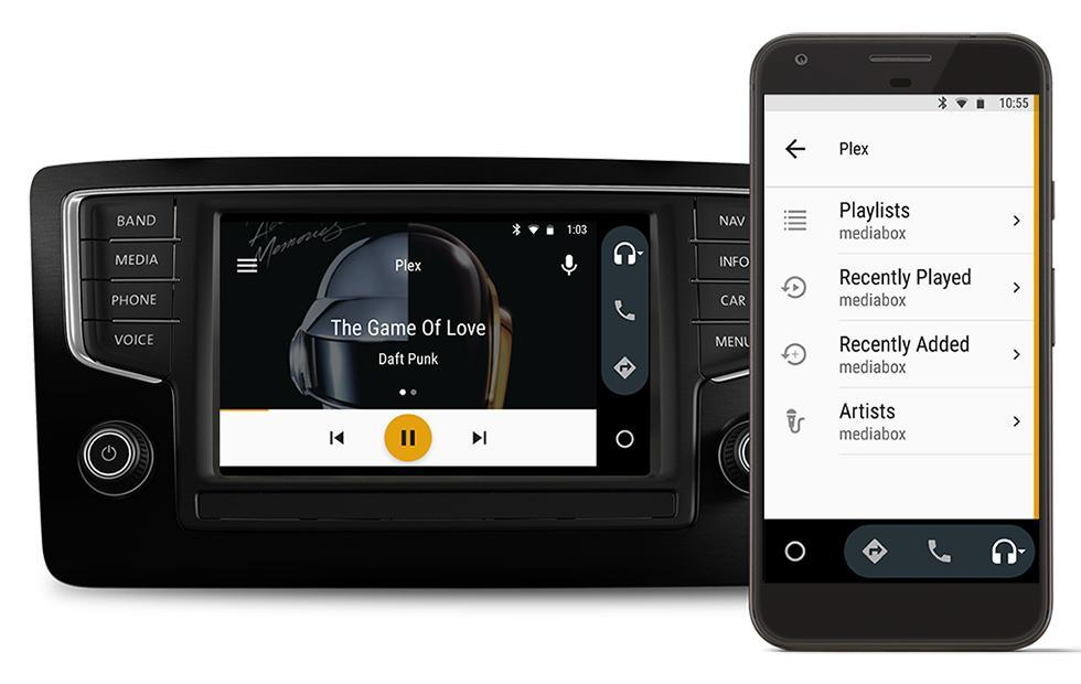 Plex users can now stream music with Android Auto