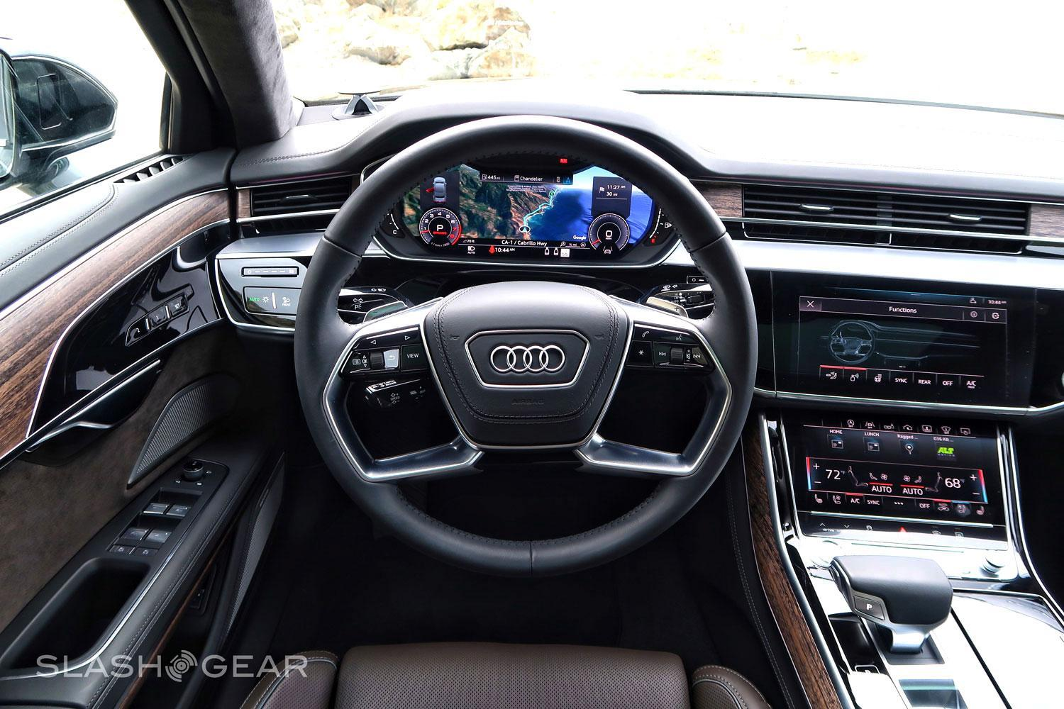 2019 Audi A8l First Drive Luxury As A Place Of Sanctuary Slashgear