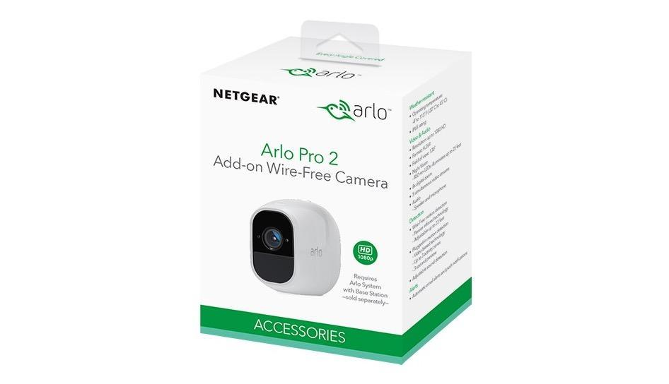 Netgear Arlo Pro 2 packs 1080p, solar option, and Alexa support