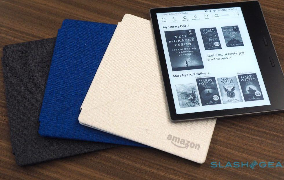 New Kindle Oasis (2017) adds big screen and waterproofing, cuts price