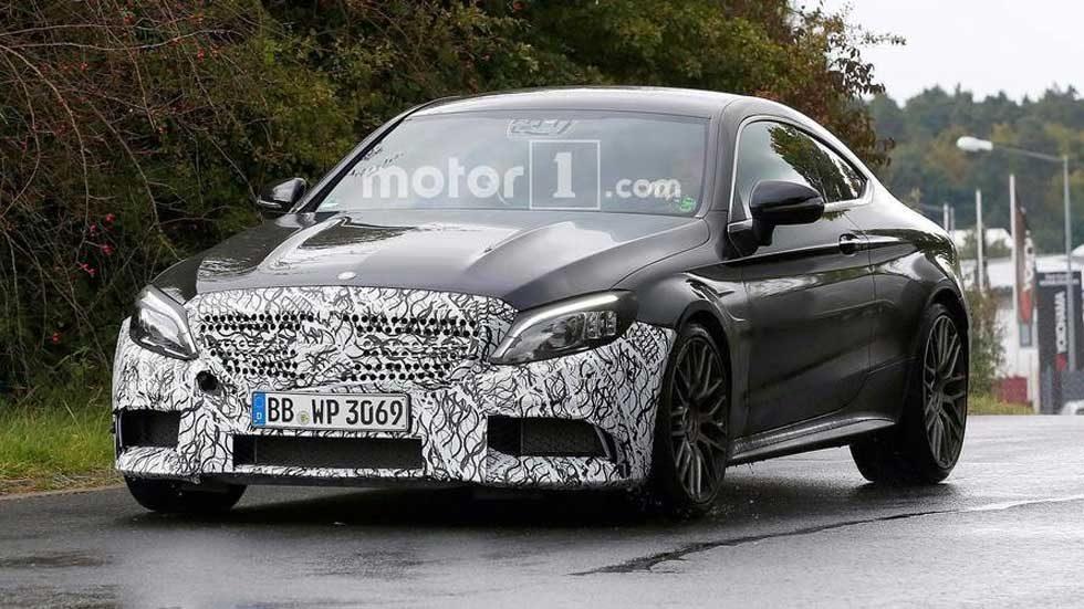 Spy shots show revised Mercedes-Benz AMG C43 and C63 rockin' camo
