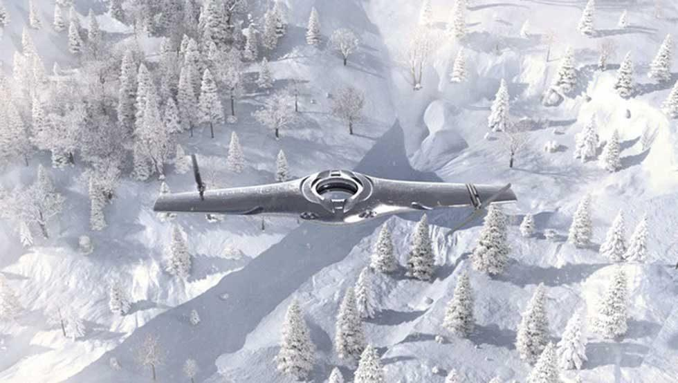 BAE drone concept can switch between fixed-wing and rotary mode for vertical landings