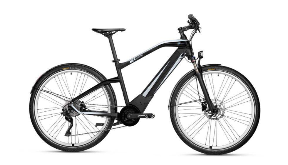 BMW Active Hybrid e-bike has 62 mile range and gobs of torque