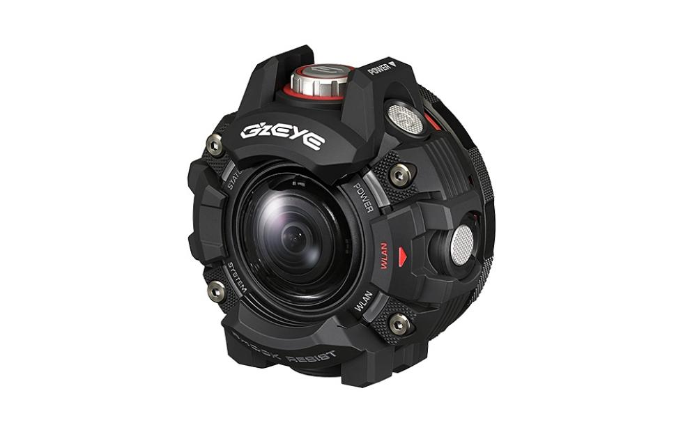 Casio GZE-1 action camera looks like part of Iron Man's armor
