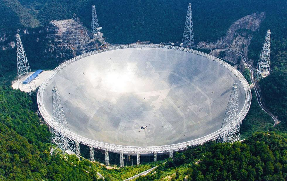 Chinese FAST telescope finds multiple pulsars in early use