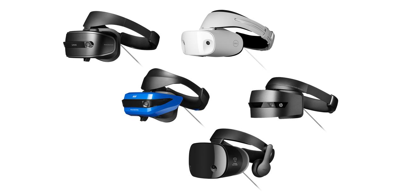 Windows Mixed Reality: Devices and Downloads on Release Day