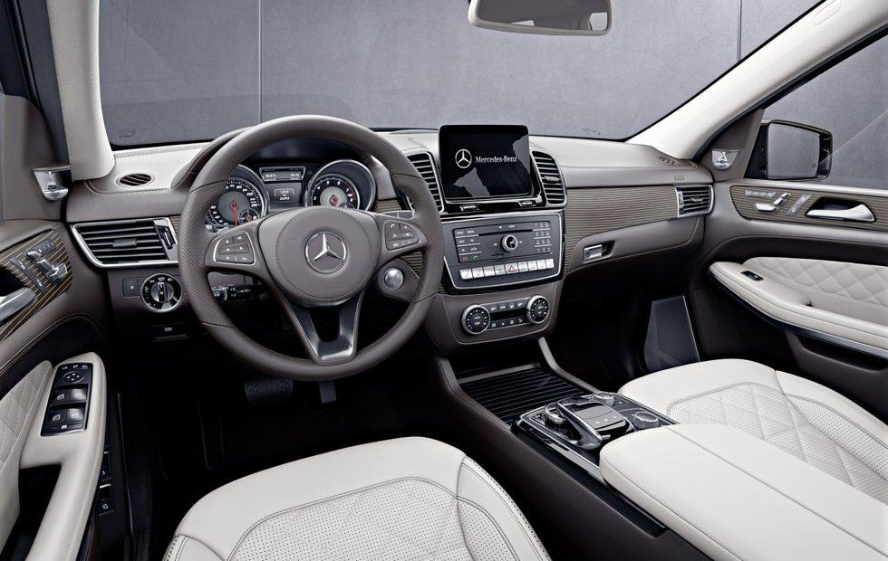 Mercedes Benz Interior >> Mercedes Benz Gls Grand Edition Gets Fancy Porcelain And