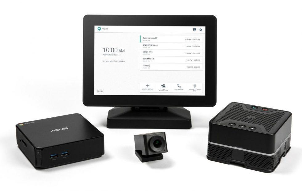 Google Hangouts Meet hardware makes video calling play