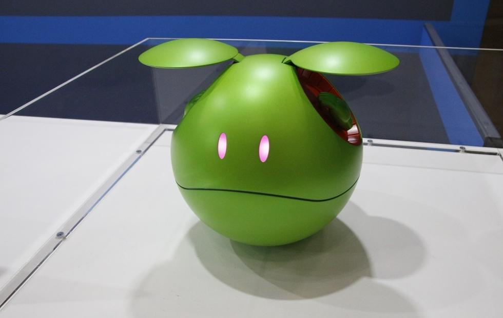Gundam Haro AI-powered talking robot can be yours next year