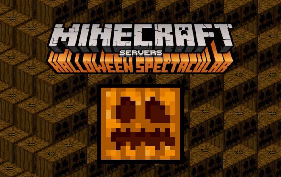 Minecraft Servers Halloween begins with spooky details!