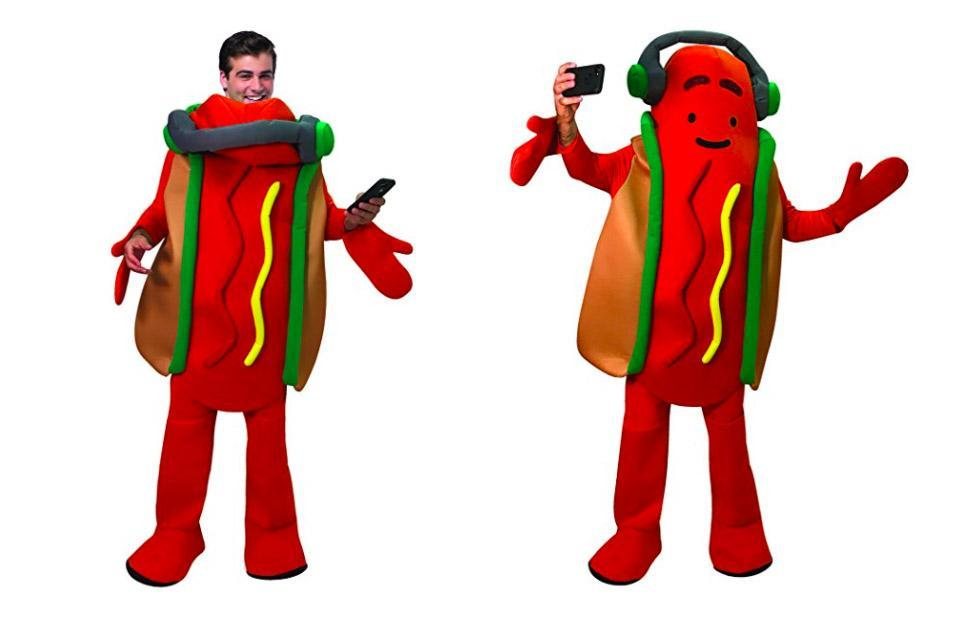 Snap is selling a dancing hot dog costume for some reason