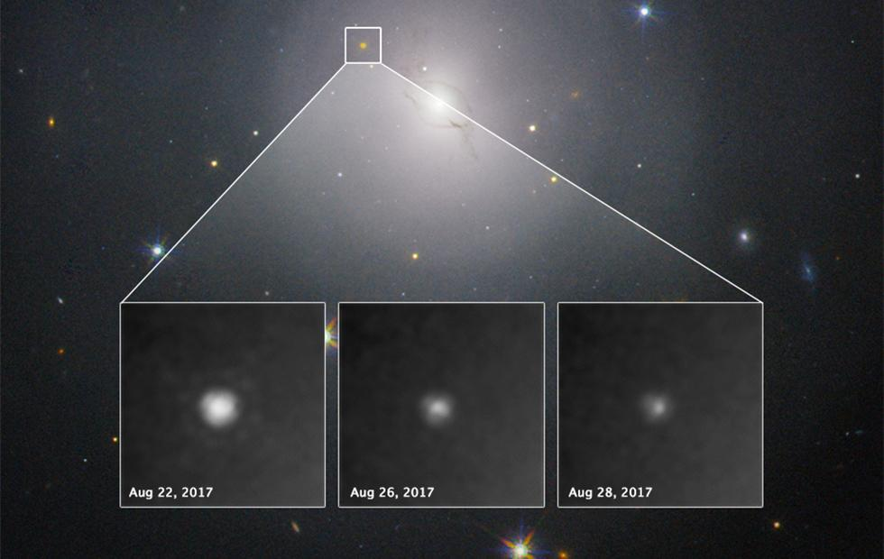 Hubble makes milestone observation of gravitational-wave source