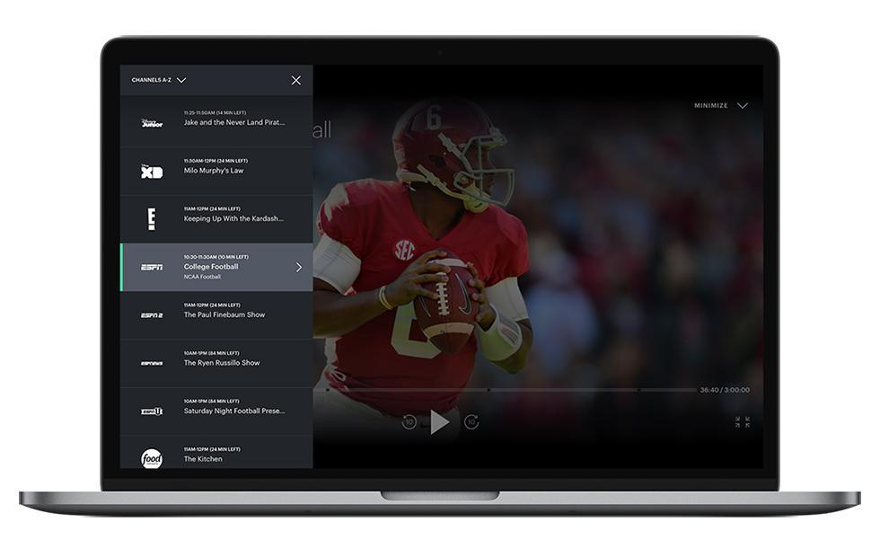 Hulu on the Web gets a simple Live TV channel guide