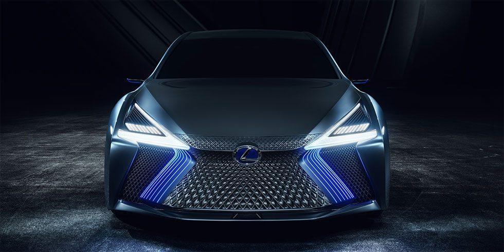 Lexus LS+ Concept is autonomous capable with tech aiming for a 2020 launch