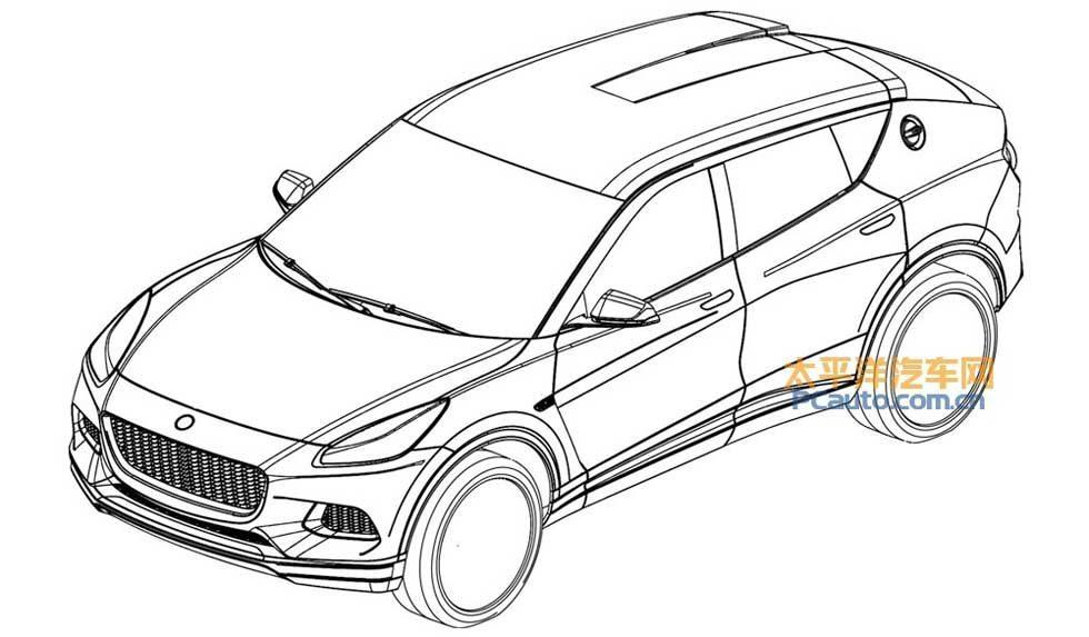 Lotus patent applications shows off coming SUV