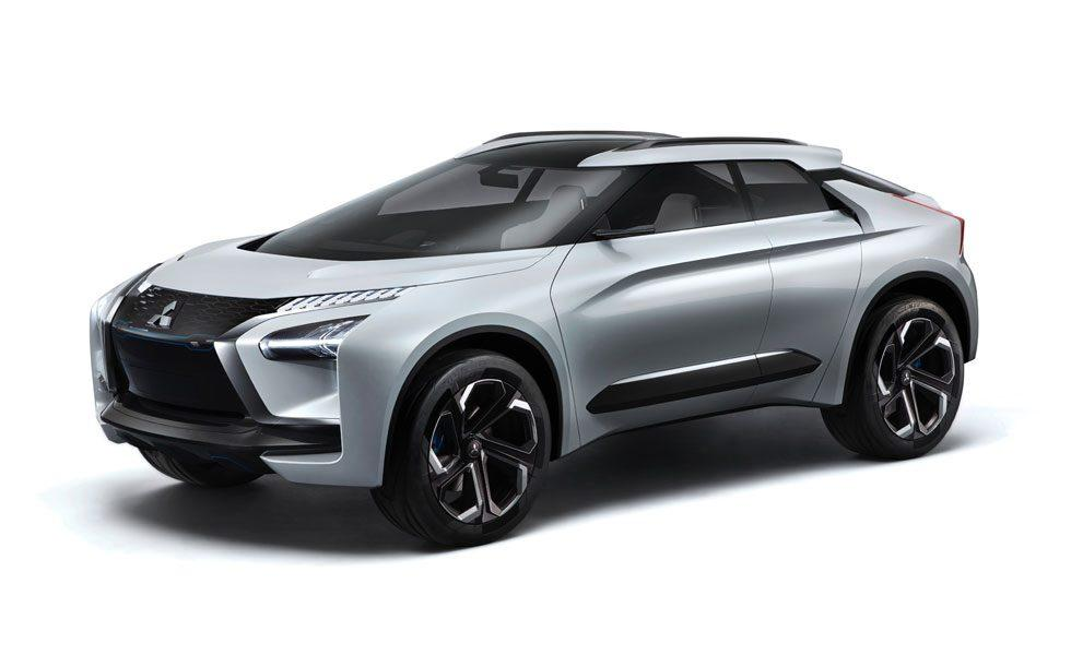 Mitsubishi e-Evolution Concept hits at automaker's vision for the future