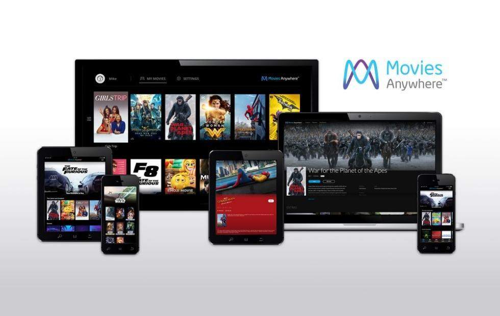 Movies Anywhere is your one stop digital movie shop
