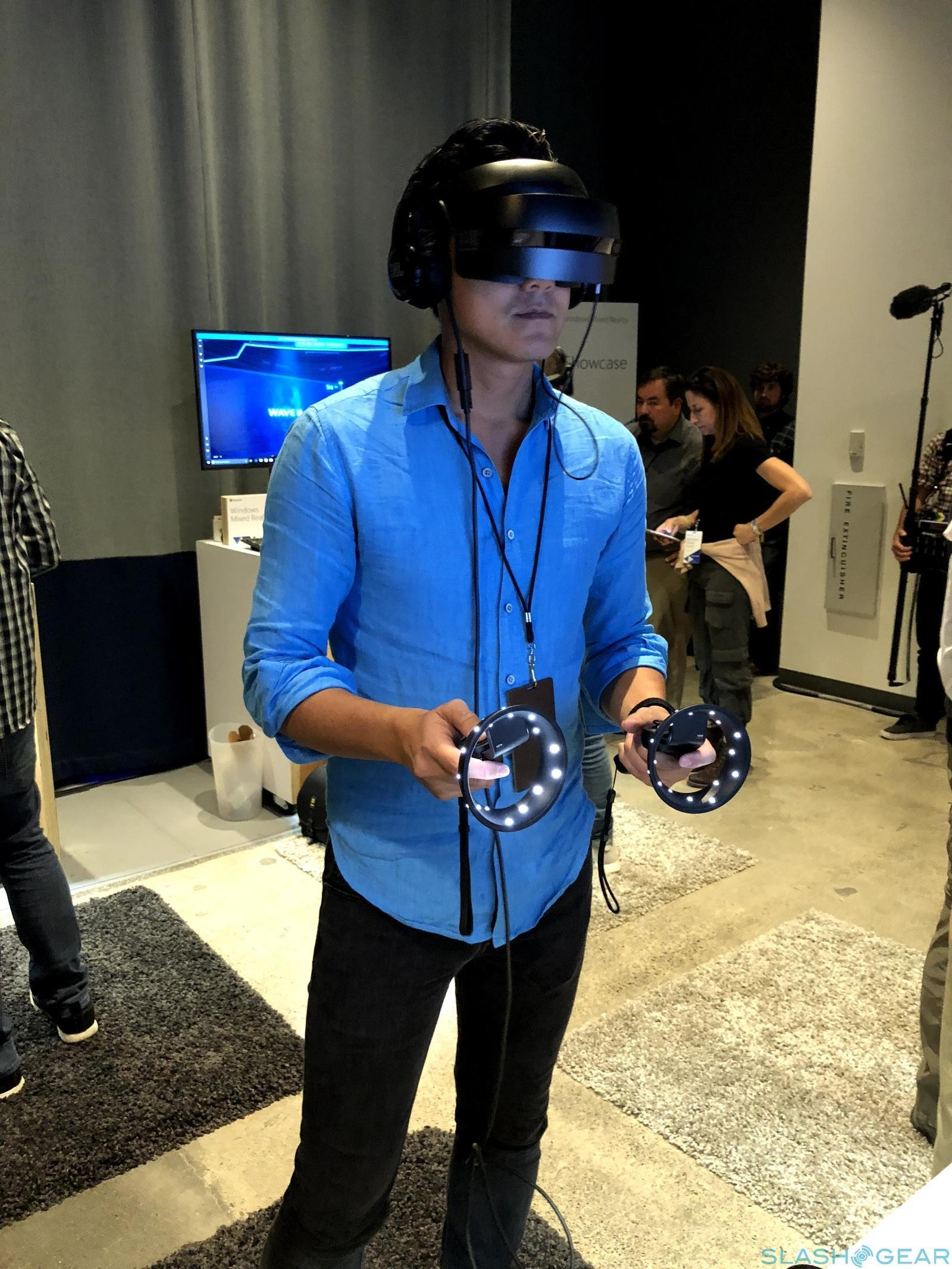 Windows Mixed Reality hands-on: previewing a future - SlashGear